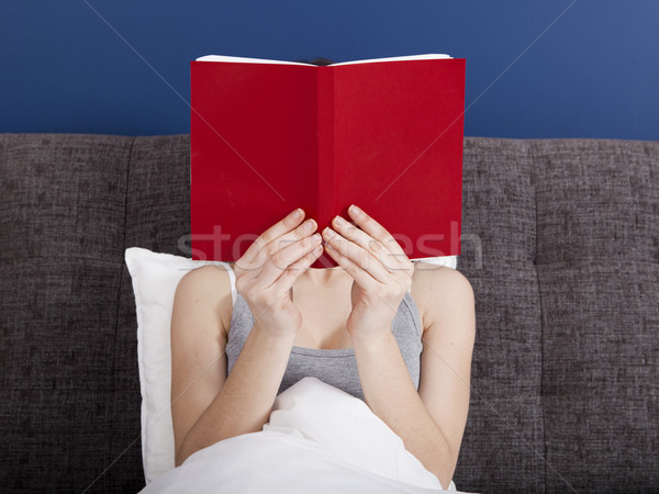 Stock photo: Time to read
