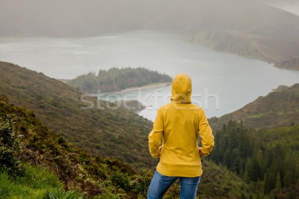 Enjoy nature Stock photo © iko