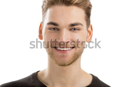 Stock photo: Good looking young man