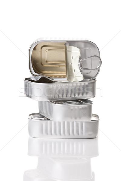 Sardine tin Stock photo © iko