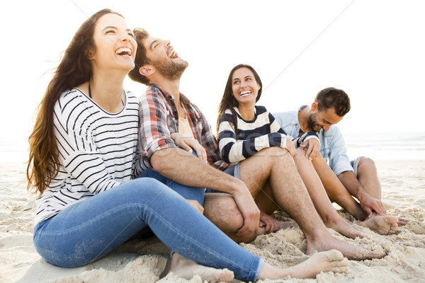 The best summer is with friends Stock photo © iko