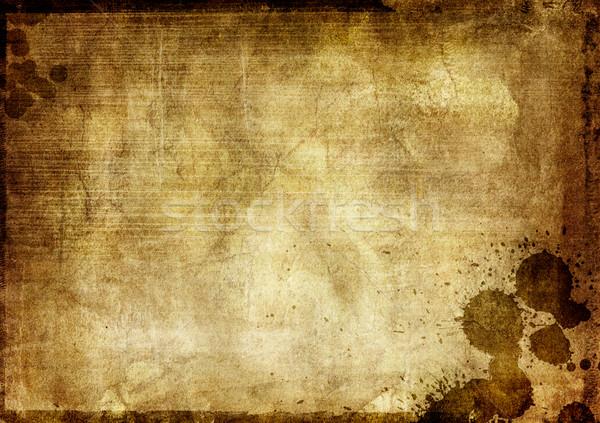 Гранж аннотация старые бумаги стены Сток-фото © iko