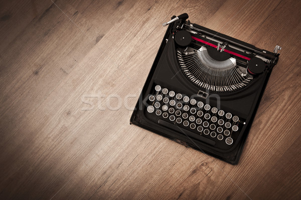 Vintage typewriter Stock photo © iko
