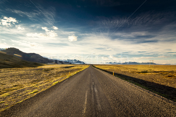 Endless road Stock photo © iko