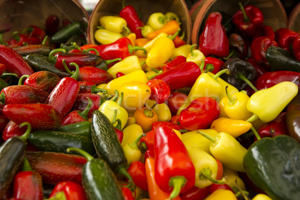 Stock photo: Organic Peppers