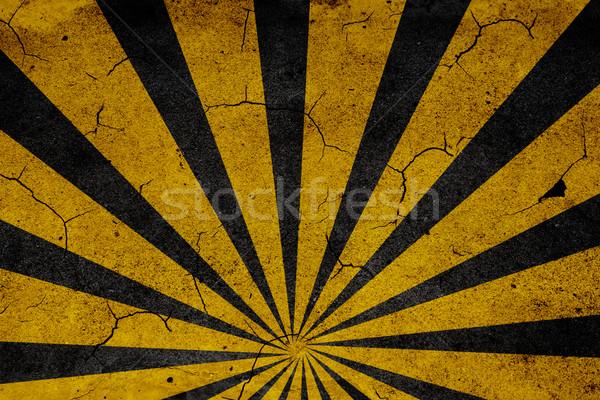 Luce raggi asfalto texture elementi design Foto d'archivio © iko