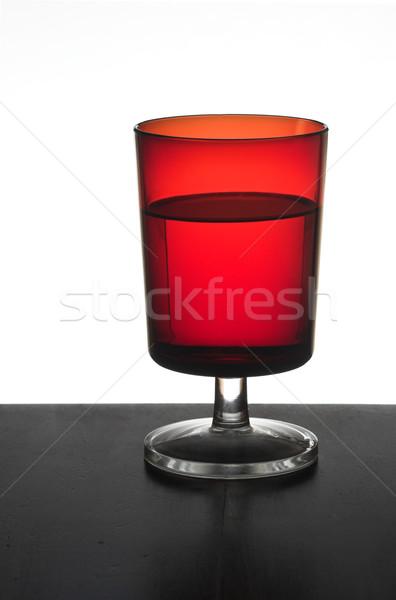 Red glasses Stock photo © iko