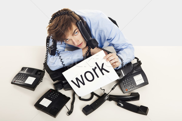 Full of work Stock photo © iko