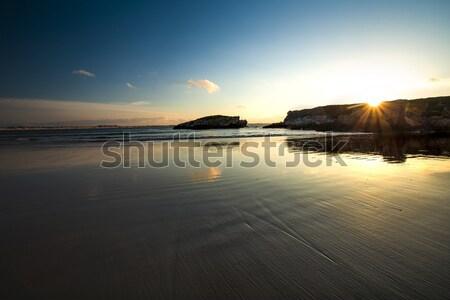 Sunshine beach Stock photo © iko