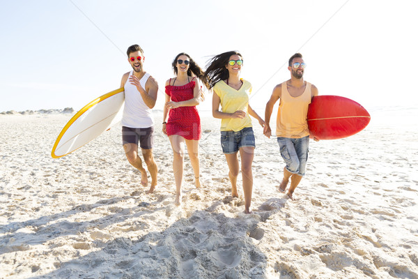 Let's go to the beach Stock photo © iko