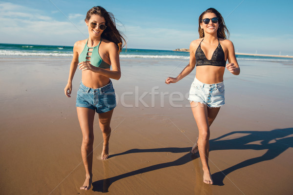Best friends having fun Stock photo © iko