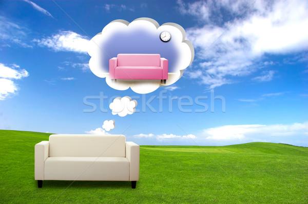 Sofa Concept Stock photo © iko