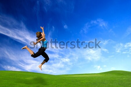 Stock photo: Big Jump