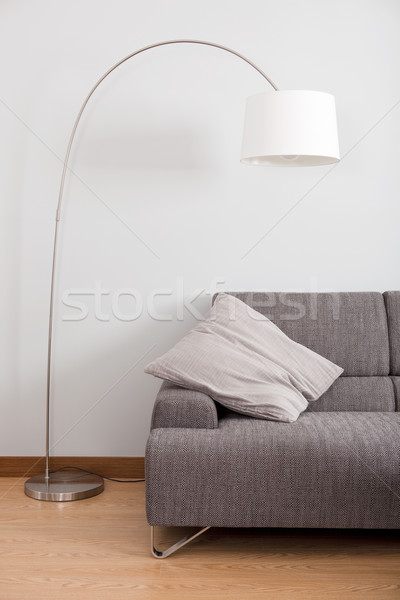 Moderne decoratie schone appartement sofa lamp Stockfoto © iko