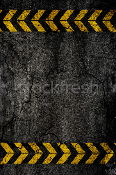 Asphalte texture construction signes mur design Photo stock © iko