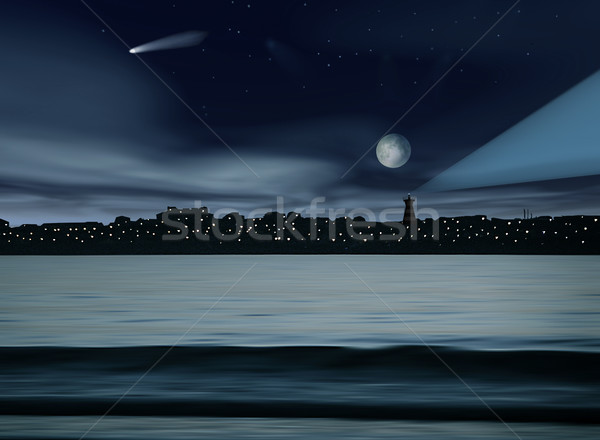 Night scene Stock photo © iko
