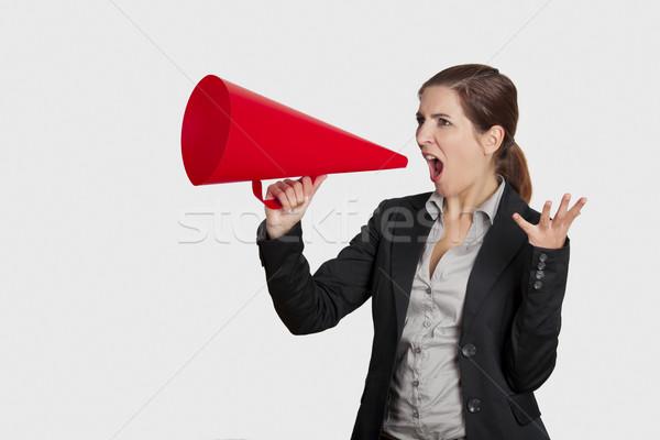 Can You Hear Me! Stock photo © iko