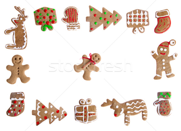 Gingerbread cookies Stock photo © iko