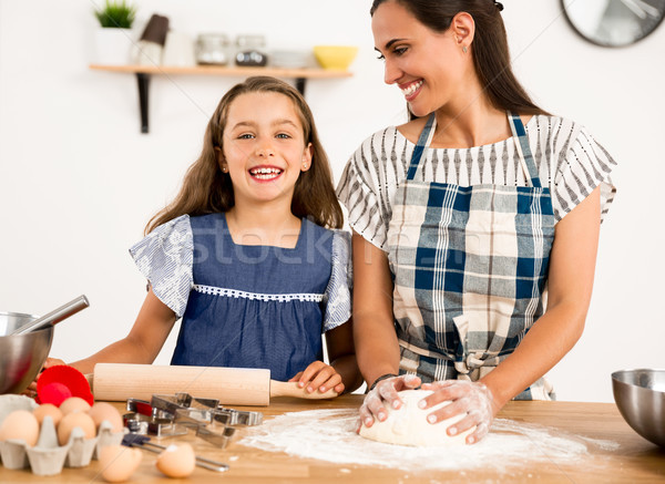 Learning to bake Stock photo © iko
