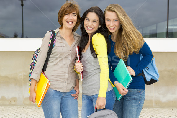 Students in the school Stock photo © iko