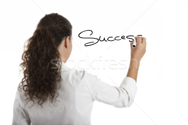Drawing the word Sucess Stock photo © iko