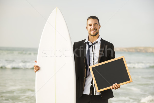 Surf is my Business Stock photo © iko