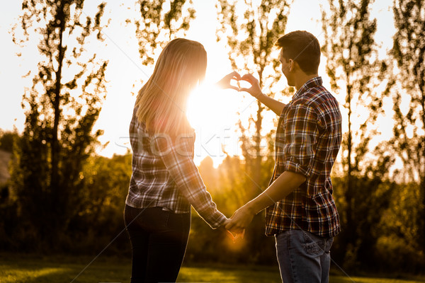 Love promisses Stock photo © iko