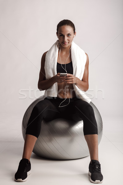 My workout playlist Stock photo © iko
