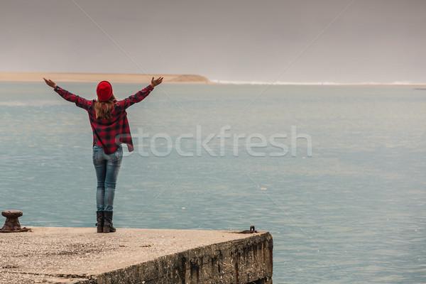 Love my freedom Stock photo © iko