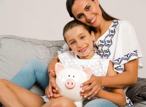 My daughter savings Stock photo © iko
