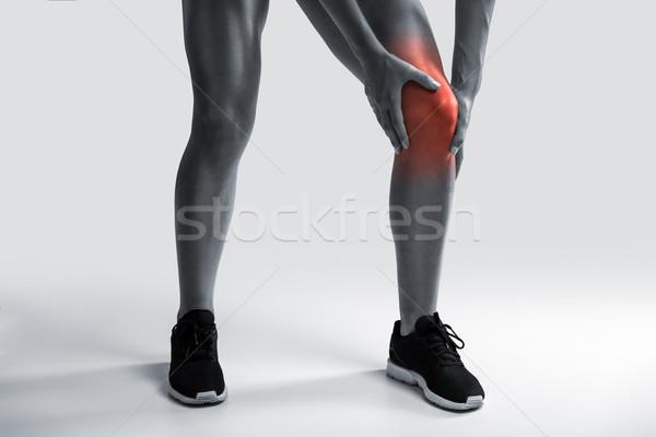 Knee Pain Stock photo © iko