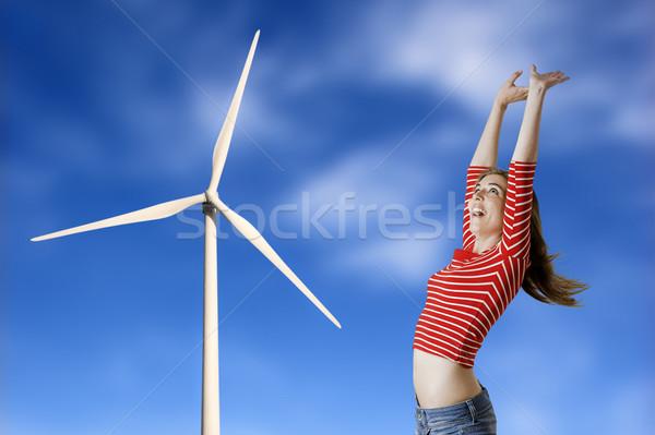 Energy solutions  Stock photo © iko