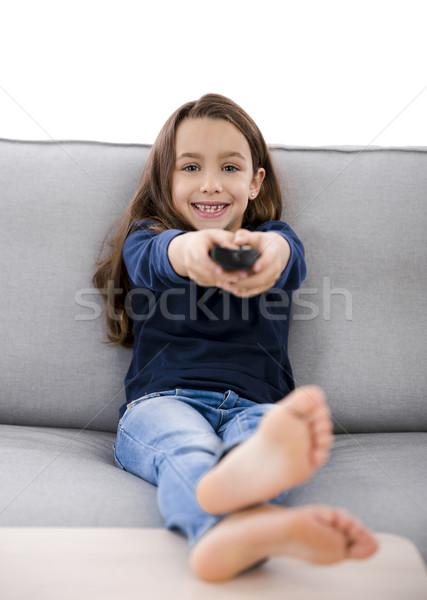 Dziewczyna dziewczynka kontroli dzieci Zdjęcia stock © iko