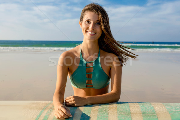 I love surf Stock photo © iko