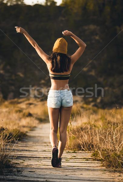 Love to be myself Stock photo © iko