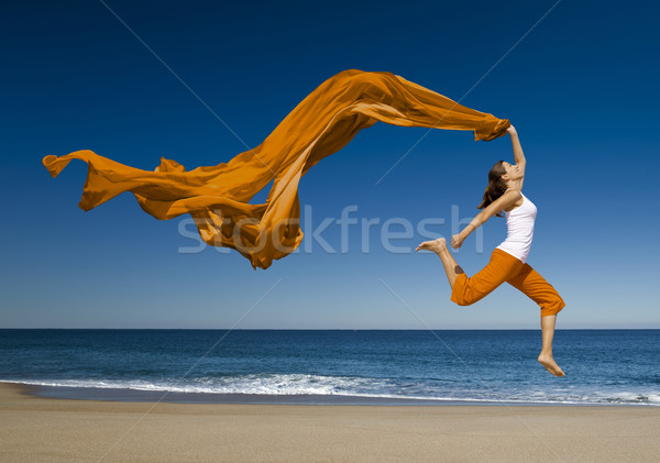 Jumping Stock photo © iko