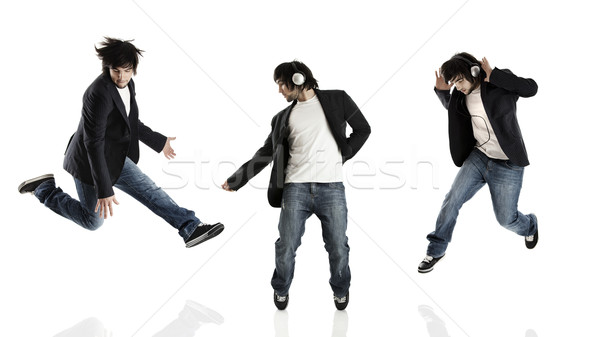 Stock photo: Dance and Jumping