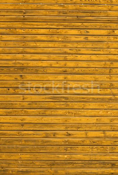 Ahşap arka plan resim eski sarı ahşap inşaat Stok fotoğraf © iko