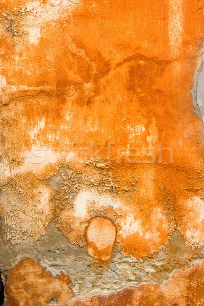 Grunge groot abstract oude muur papier Stockfoto © iko