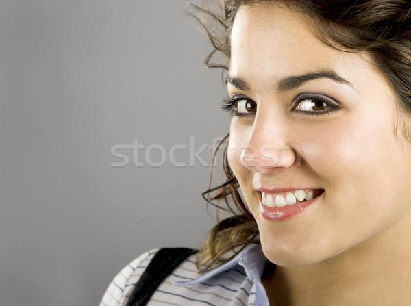 Güzel bir kadın portre güzel genç Stok fotoğraf © iko