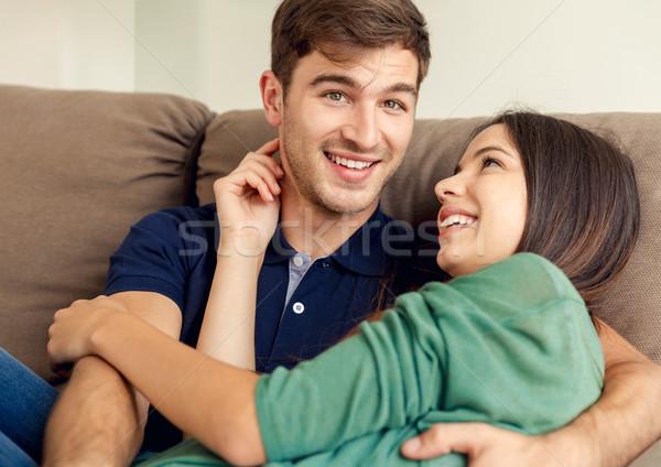 Young couple Stock photo © iko