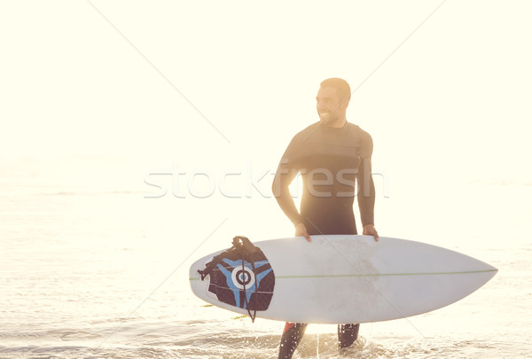 Let's catch some waves Stock photo © iko