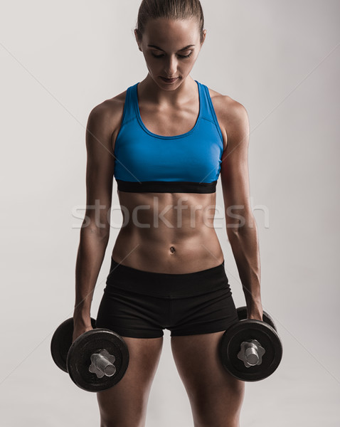 Healthy and Strong Stock photo © iko