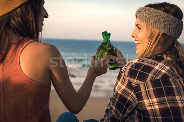 A toast to friendship Stock photo © iko