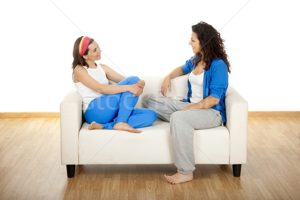 Two beautiful women Stock photo © iko