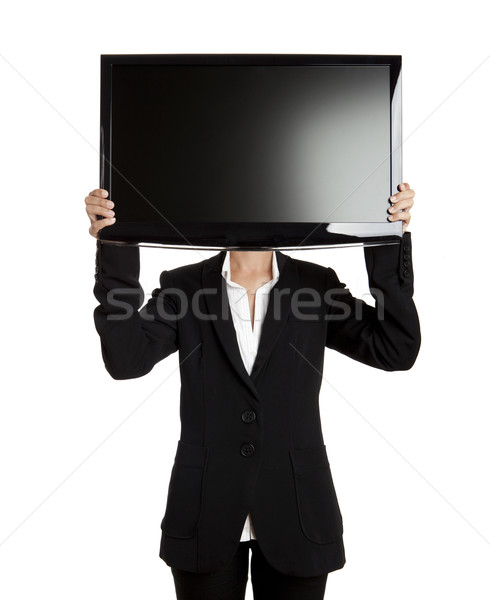 TV head Stock photo © iko