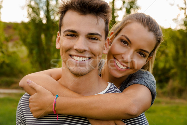 Enjoying a lovely day together Stock photo © iko