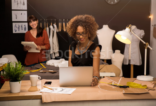 Fashion designers Stock photo © iko