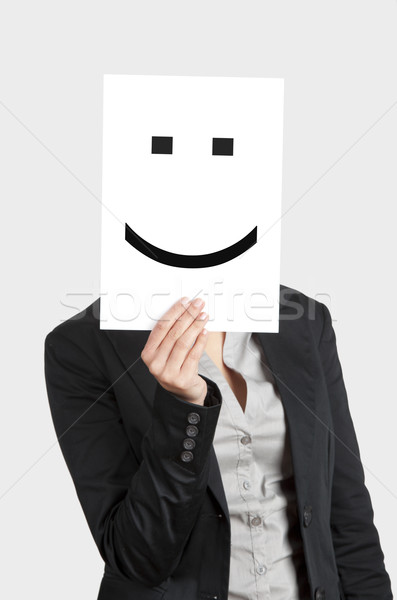 Stock photo: Happy Face