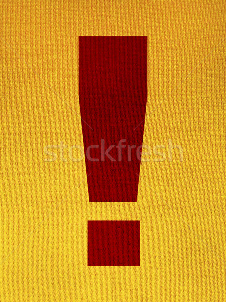 Exclamation point background Stock photo © iko